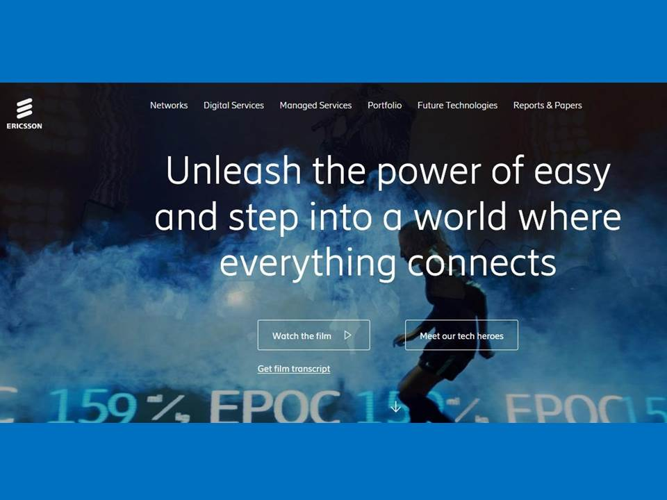 "Screenshot: Ericsson Video ""The quest for easy"" https://www.ericsson.com/en/the-quest-for-easy/power-of-easy"