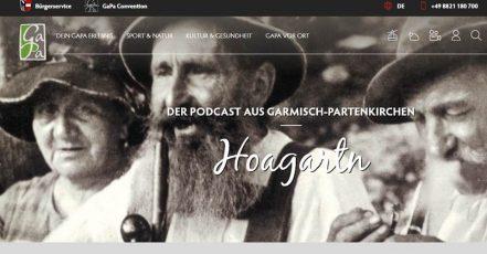 Titelbild: Screenshot der Hoagartn Podcast Seite auf gapa.de