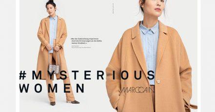 Marc Cain Kampagne #MysteriousWomen (Quelle: https://de.fashionnetwork.com/)