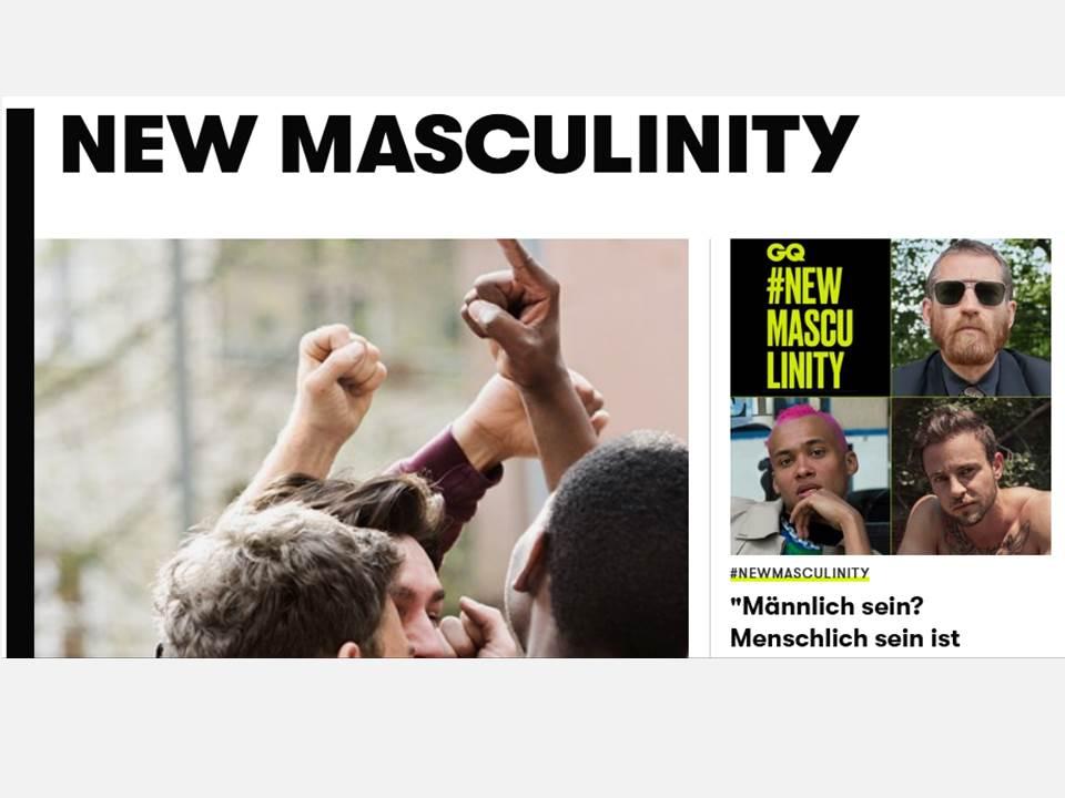 Screenshot: #NewMasculinity https://www.gq-magazin.de/ 02.08.2019
