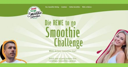 Screenshot: REWE Smoothie Generator (https://smoothie-generator.rewe.de/)