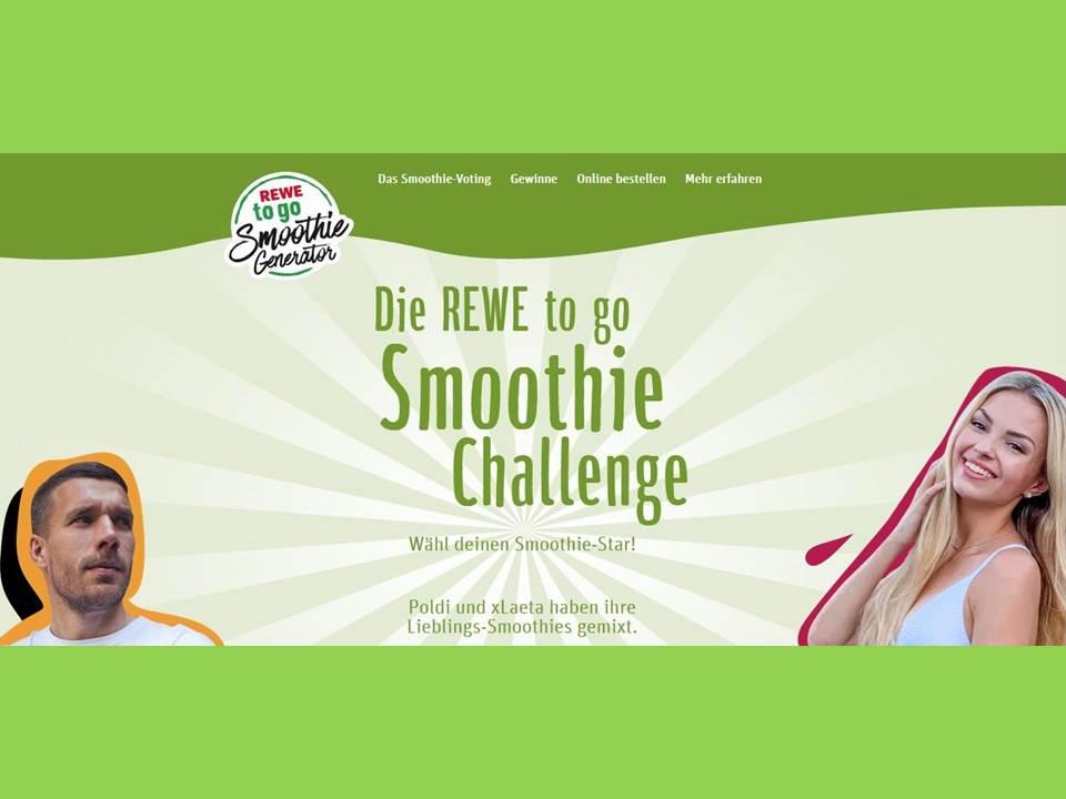 Screenshot: REWE Smoothie Generator (https://smoothie-generator.rewe.de/)