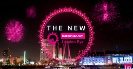 Screenshot: Youtube Video_Lastminute.com lässt London Eye in pink erstrahlen
