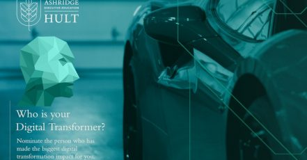 Ashridge und Ferrari suchen den Digital Transformer 2018 Screenshot: http://no1digitaltransformer.com/nominate-now 08.05.2018