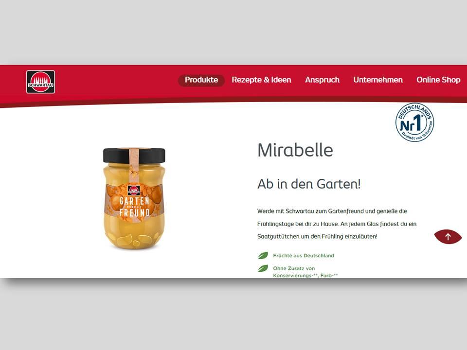 """Screenshot: Frühjahrs-Edition """"Gartenfreund"""" von Schwartau (Quelle. schwartau.de / 16.04.2020)"""