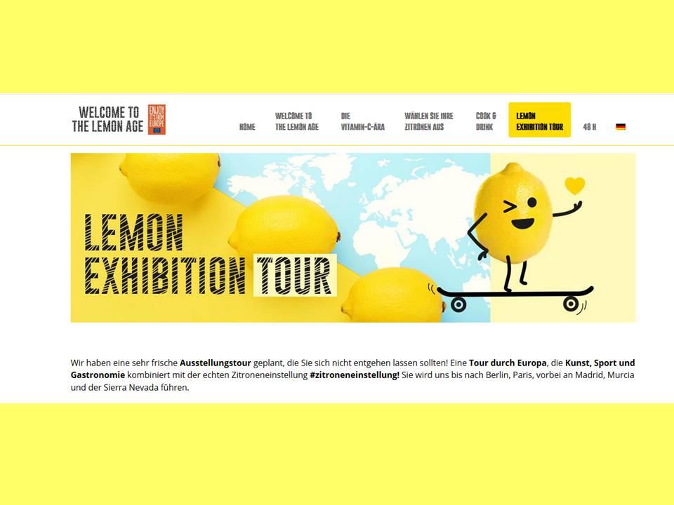 Bild: Screenshot der Kampagnen-Website thelemonage.eu (Link: https://thelemonage.eu) 29.10.2020