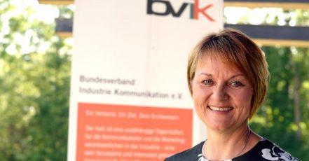 Foto: Silke Lang, Mitglied im bvik-Vorstand und Leitung Marketing Mobile Hydraulics der Bosch Rexroth AG (Quelle: Thomas R. Schumann)
