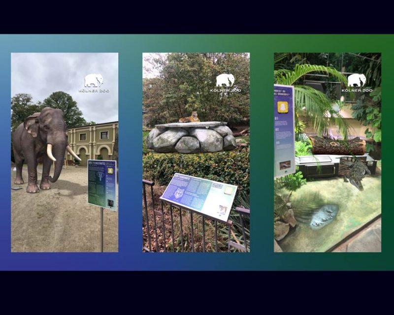 Bild: Snapchat und der Kölner Zoo machen sich mit Augmented Reality für Artenvielfalt stark