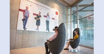 Interne Kommunikation - Swiss Life liefert Kunden Insights per Virtual Reality (Bildrechte: Swiss Life Deutschland)