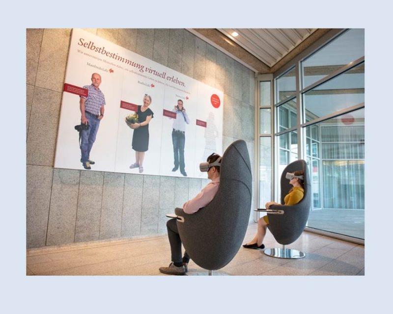 Interne Kommunikation - Swiss Life liefert Kunden Insights per Virtual Reality (Bildrechte: Swiss Life Deutschland)
