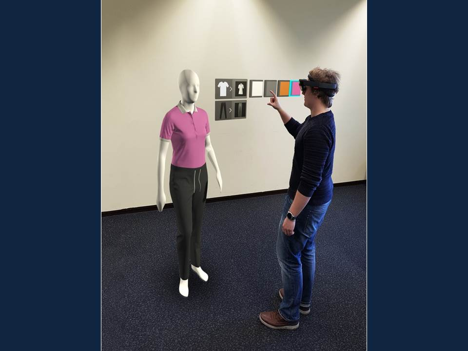 Bild: Digitale Unterstützung für die Modebranche. Forschungsprojekt der TH Köln entwickelt Virtual und Augmented Reality-Lösungen (Copyright: TH Köln)