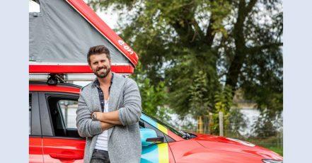 TV-Moderator Thore Schölermann geht mit E.ON auf Deutschland-Tour. (Copyrights: E.ON Energie Deutschland GmbH)