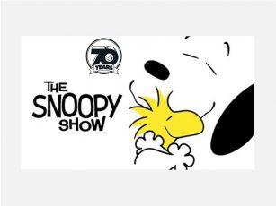 Bild / Collage: Key Visual, Logo von TAKE CARE WITH PEANUTS (Copyrights: Peanuts Worldwide; WildBrain Ltd.)