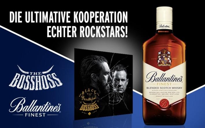 The BossHoss und Ballantine's gehen Markenpartnerschaft ein (Bild: Pernod Ricard Deutschland)