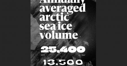 "Bild: So sieht ""The Climate Crisis Font"" von Helsingin Sanomat / TBWA in der Anwendung aus (Quelle: https://kampanjat.hs.fi/climatefont/index.html)"