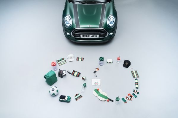 The MINI 60 Years Lifestyle Collection 02/2019 (Quelle / Copyright: BMW Group)