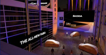 Virtuelle Präsentation des SKODA FABIA am 04. Mai 2021 (Bildrechte: SMB / Fotograf: Skoda Auto Deutschland GmbH)