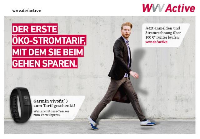 Bild: WVV Anzeigenkampagne