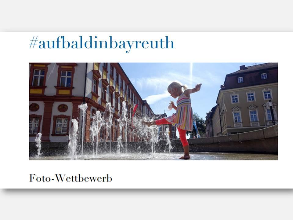 Screenhshot: Website zum Foto-Contest #aufbaldinbayreuth