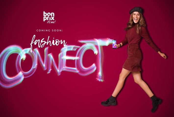 "bonprix Key Visual ""fashion connect"" (Quelle: obs/bonprix Handelsgesellschaft mbH)"