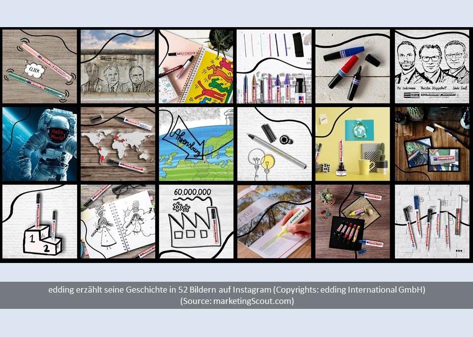 Bild: edding erzählt seine Geschichte in 52 Bildern (Copyrights: edding International GmbH)