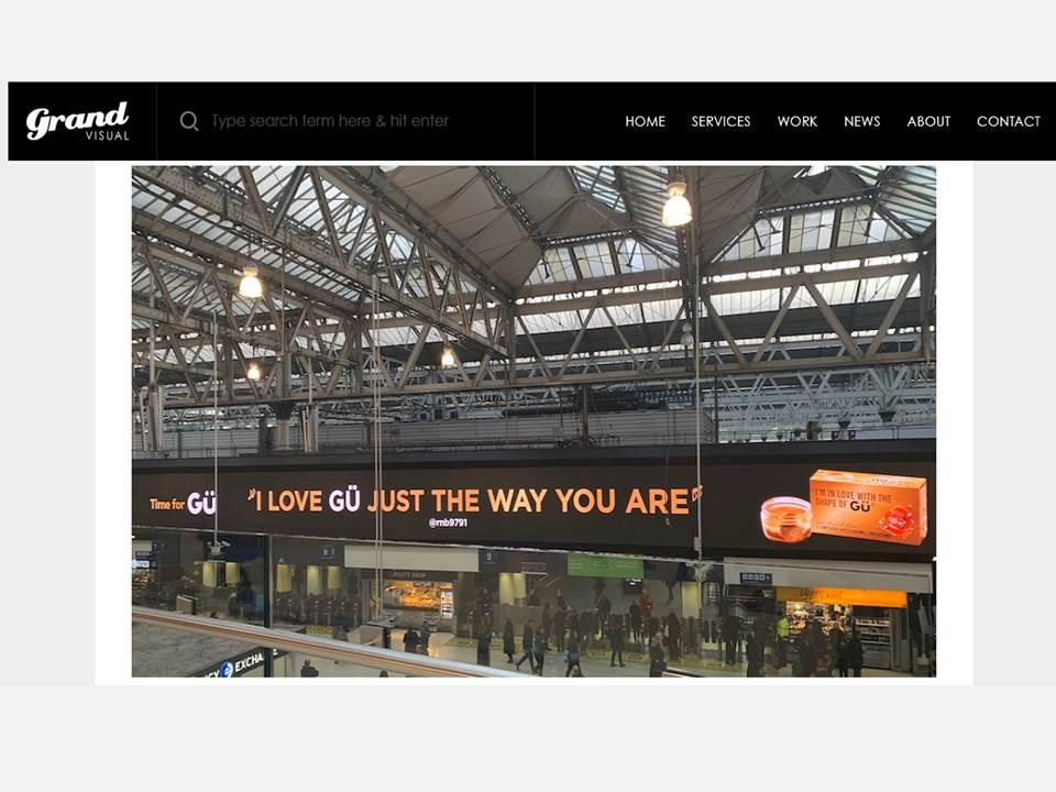 Bild:  Screenshot https://grandvisual.com/gu-valentines-dooh-campaign/