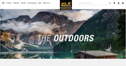 Screenshot: jack-wolfskin.de Outdoor Magazin_05.05.2020